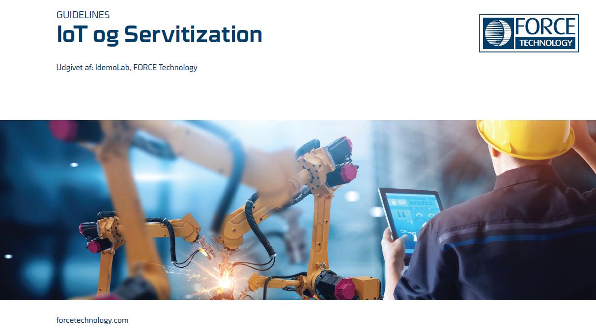 IoT og servitization guideline brochure
