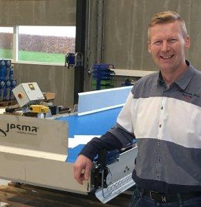 Jacob Fabrin, Production & Service Manager i Jesma.