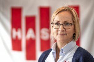 Karen Bladt, Direktør i Hasle